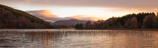 Ηλιοβασίλεμα Pityoulish Στοκ Εικόνες