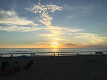 Ηλιοβασίλεμα SoCal στοκ φωτογραφίες με δικαίωμα ελεύθερης χρήσης