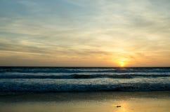 Ηλιοβασίλεμα Tarifa στοκ φωτογραφίες με δικαίωμα ελεύθερης χρήσης