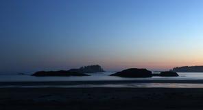 Ηλιοβασίλεμα Tofino Στοκ Εικόνες