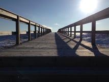 Ηλιοφάνεια περιπάτων πινάκων Στοκ Εικόνες