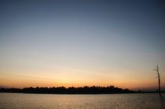 ηλιοφάνεια τοπίων Στοκ Εικόνα