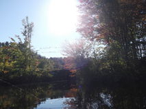 Ηλιοφάνεια φθινοπώρου Στοκ φωτογραφία με δικαίωμα ελεύθερης χρήσης
