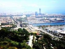 Η Ισπανία Βαρκελώνη Στοκ φωτογραφία με δικαίωμα ελεύθερης χρήσης