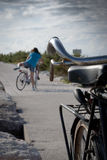 Η ιστορία ποδηλάτων Στοκ Φωτογραφία