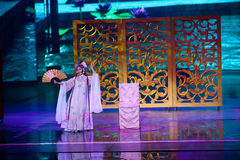 Η ιστορία της--Ιστορικός μαγικός ο μαγικός δράματος τραγουδιού και χορού ύφους - Gan Po Στοκ Φωτογραφία