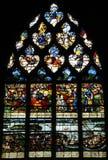 Η ιστορική εκκλησία Pont de λ arche στο Λ Eure Στοκ φωτογραφία με δικαίωμα ελεύθερης χρήσης