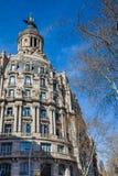 Η ιστορική οικοδόμηση της Ένωσης και του ισπανικού Phoenix στοκ φωτογραφία με δικαίωμα ελεύθερης χρήσης