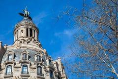 Η ιστορική οικοδόμηση της Ένωσης και του ισπανικού Phoenix στοκ εικόνες