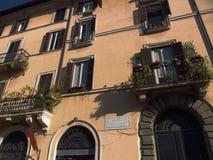 Η Ιταλία, πόλη επίσκεψης της Ρώμης Στοκ Εικόνα