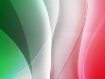 η ιταλική MAC σημαιών ανασκόπη&s Στοκ Φωτογραφία