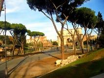 Η Ιταλία, πόλη της Ρώμης, αψίδα του Constantine Στοκ Φωτογραφίες