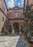 Η ιταλική πόλη της Σιένα είναι ο αιώνιος ανταγωνιστής της Φλωρεντίας Στοκ Φωτογραφία