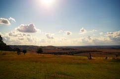 Ηλιόλουστη ημέρα σε Bedfordshire στοκ φωτογραφία