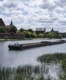 Ηλιόλουστη ημέρα σε Malbork Στοκ φωτογραφία με δικαίωμα ελεύθερης χρήσης