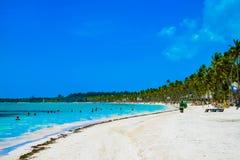 Ηλιόλουστη ημέρα σε Punta Cana Στοκ εικόνα με δικαίωμα ελεύθερης χρήσης