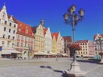 Ηλιόλουστη ημέρα σε Wroclaw Στοκ Φωτογραφίες
