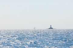 Ηλιόλουστη ημέρα στην αδριατική θάλασσα Στοκ φωτογραφία με δικαίωμα ελεύθερης χρήσης