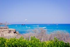 Ηλιόλουστη Κύπρος Στοκ Φωτογραφία