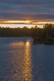 Ηλιόλουστη πορεία Στοκ εικόνες με δικαίωμα ελεύθερης χρήσης