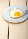 Ηλιόλουστη πλευρά αυγών επάνω Στοκ Φωτογραφίες