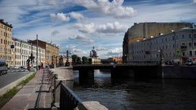 Ηλιόλουστος Άγιος Πετρούπολη Στοκ Εικόνες