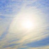 ηλιόλουστος καιρός Στοκ εικόνες με δικαίωμα ελεύθερης χρήσης