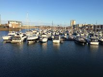 Ηλιόλουστο λιμάνι Στοκ Εικόνες