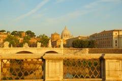 Ηλιόλουστο πρωί στη Ρώμη Στοκ φωτογραφίες με δικαίωμα ελεύθερης χρήσης