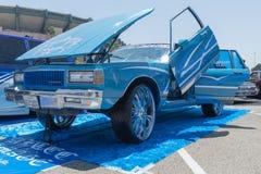 Η ιδιοτροπία Chevrolet στην επίδειξη κατά τη διάρκεια του ΑΝΤΙΓΡΑΦΟΥ παρουσιάζει γύρο στοκ εικόνα με δικαίωμα ελεύθερης χρήσης