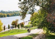 Η κάθοδος στον ποταμό Μουσείο-επιφύλαξη Kolomenskoye στοκ φωτογραφία με δικαίωμα ελεύθερης χρήσης