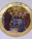 Η κάθοδος του ιερού πνεύματος Στοκ εικόνες με δικαίωμα ελεύθερης χρήσης