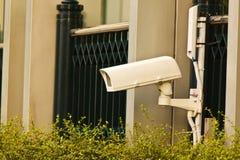 Η κάμερα CCTV Στοκ εικόνες με δικαίωμα ελεύθερης χρήσης