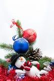 Η κάρτα Χριστουγέννων Στοκ εικόνα με δικαίωμα ελεύθερης χρήσης