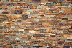 η κάλυψη τούβλων τούβλου κατέστρεψε τον πλευρικό παλαιό καιρό τοίχων Στοκ Εικόνες