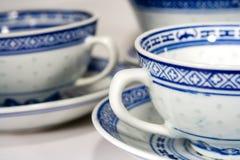 η Κίνα κοιλαίνει το τσάι Στοκ Εικόνες