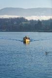 Η κίτρινη βάρκα Στοκ εικόνα με δικαίωμα ελεύθερης χρήσης
