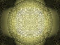 Η κίτρινη σύσταση επιφάνειας πιάτων γυαλιού στοκ φωτογραφίες