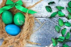 Η καθολική Πάσχα Κυριακή Πάσχας και η ορθόδοξη Κυριακή Πάσχας Στοκ Εικόνες