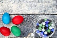 Η καθολική Πάσχα Κυριακή Πάσχας και η ορθόδοξη Κυριακή Πάσχας Στοκ φωτογραφία με δικαίωμα ελεύθερης χρήσης