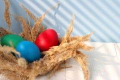 Η καθολική Πάσχα Κυριακή Πάσχας και η ορθόδοξη Κυριακή Πάσχας Στοκ Φωτογραφίες