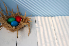 Η καθολική Πάσχα Κυριακή Πάσχας και η ορθόδοξη Κυριακή Πάσχας Στοκ Εικόνα