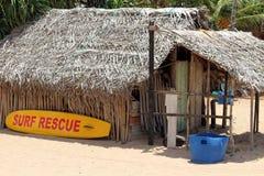 Η καλύβα lifeguard της παραλίας Nilaveli σε Trincomalee στοκ εικόνες