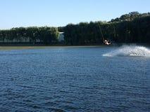 Η καλύτερη διασκέδαση στον κόσμο στο νερό Στοκ Φωτογραφίες