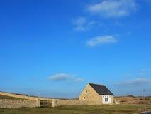 Η καμπίνα στο νησί του Πόρτλαντ Στοκ φωτογραφία με δικαίωμα ελεύθερης χρήσης