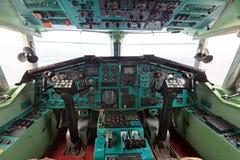 Η καμπίνα TU-144 Στοκ Εικόνες