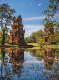 η Καμπότζη συγκεντρώνει siem 16 Δεκεμβρίου 2011 Kleangi και Prasat Suor Στοκ Εικόνα