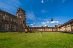 η Καμπότζη συγκεντρώνει siem Ο ναός σύνθετος Angkor Wat, η εσωτερική περιοχή Στοκ φωτογραφίες με δικαίωμα ελεύθερης χρήσης