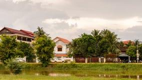 η Καμπότζη συγκεντρώνει siem Στοκ εικόνα με δικαίωμα ελεύθερης χρήσης
