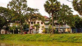 η Καμπότζη συγκεντρώνει siem Στοκ Εικόνα